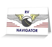 Navigator Wings Tell Your Driver Where To Go Greeting Card