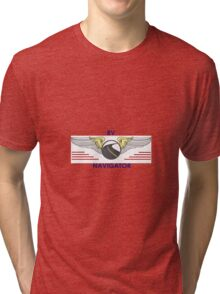 Navigator Wings Tell Your Driver Where To Go Tri-blend T-Shirt