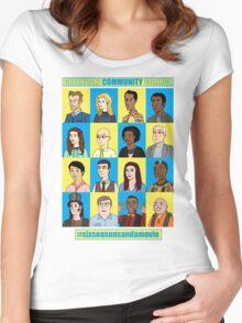 #sixseasonsandamovie Women's Fitted Scoop T-Shirt