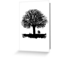 Taking in the view Greeting Card