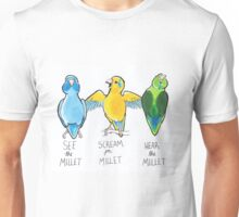 See the Millet, Scream for Millet, Hear the Millet Unisex T-Shirt