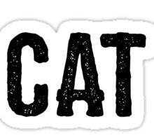 I'm a cat person Sticker