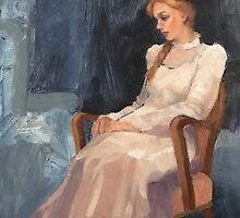 Carmen's White Dress by Roz McQuillan