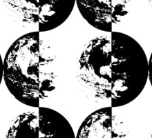 Inverted Earth Sticker