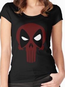 DeadPunisher 2 Women's Fitted Scoop T-Shirt