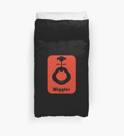 Wiggler Duvet Cover
