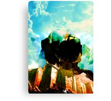 Down Rising Canvas Print