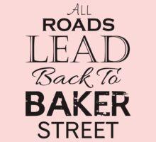 All Roads Lead Back To Baker Street Baby Tee