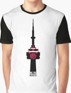 Toronto Raptors We The North (CN Tower) Graphic T-Shirt