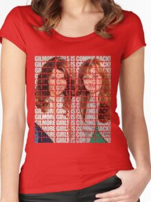 GILMORE GIRLS IS COMING BACK! Women's Fitted Scoop T-Shirt