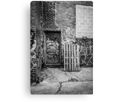 Exit to the Streets Canvas Print