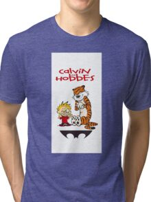 calvin and hobbes 313 Tri-blend T-Shirt