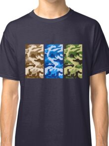 Camouflage colors 2 Classic T-Shirt