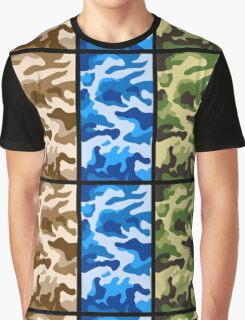 Camouflage colors 2 Graphic T-Shirt