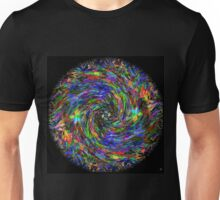 AUTUMN LEAVES SPIRAL Unisex T-Shirt