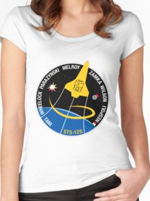STS-120 Mission Patch Women's Fitted Scoop T-Shirt