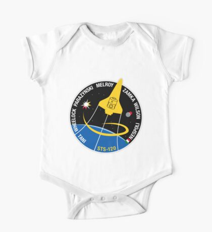 STS-120 Mission Patch One Piece - Short Sleeve