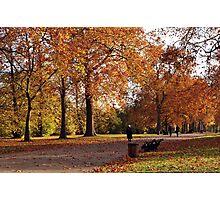 Autumn in London Photographic Print