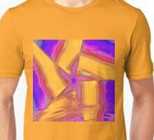 Rising Gold Purple Star Unisex T-Shirt