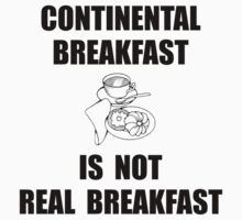 Continental Breakfast Kids Tee