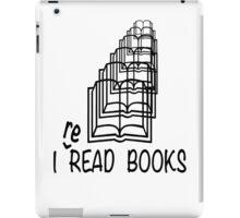 i reREAD books iPad Case/Skin