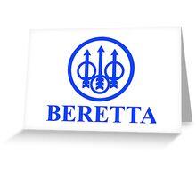 BERETTA Firearms guns Greeting Card