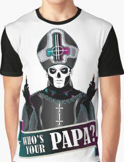WHO'S YOUR PAPA? - papa 3 Graphic T-Shirt