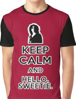 Keep Calm and Hello Sweetie Graphic T-Shirt