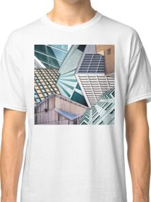 City Buildings Abstract Classic T-Shirt