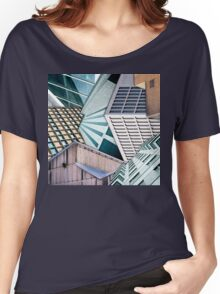 City Buildings Abstract Women's Relaxed Fit T-Shirt