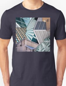 City Buildings Abstract Unisex T-Shirt