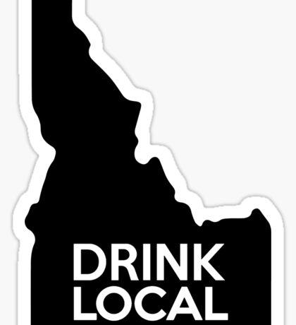 Idaho Drink Local ID Sticker