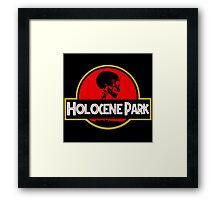 Holocene Park Framed Print