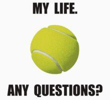My Life Tennis One Piece - Short Sleeve
