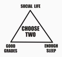 School Triangle One Piece - Short Sleeve