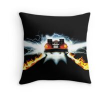 DeLorean Ready To Go Throw Pillow