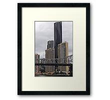 City Giants Framed Print