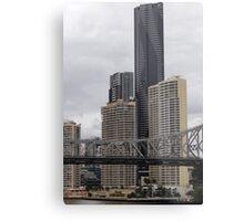 City Giants Metal Print