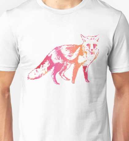 Colorful Wolf Unisex T-Shirt