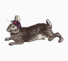 The Rabbit & Roses Baby Tee