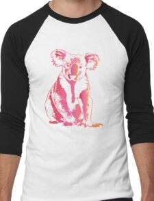 Colorful Koala Men's Baseball ¾ T-Shirt