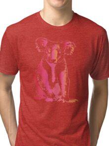 Colorful Koala Tri-blend T-Shirt