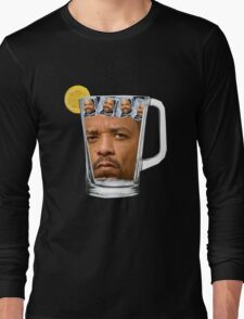 Ice(d) T(ea) with some Ice Cube(s) Long Sleeve T-Shirt
