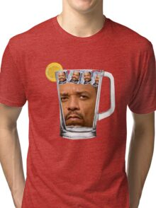 Ice(d) T(ea) with some Ice Cube(s) Tri-blend T-Shirt