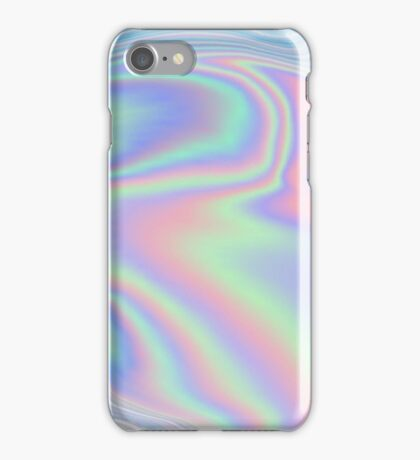 Holographic trip iPhone Case/Skin