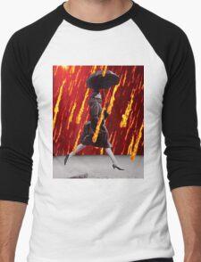 A Rainy Day Men's Baseball ¾ T-Shirt