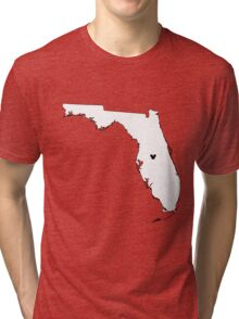 Home Is Where The World Is Tri-blend T-Shirt