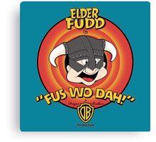 The Elder Fudd Canvas Print