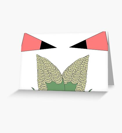 Angry Mother Demon Greeting Card