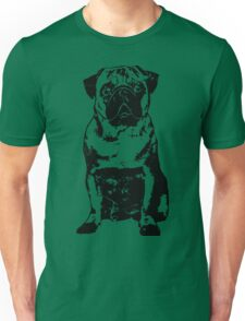 Black Dog Unisex T-Shirt